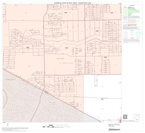 Primary view of object titled '2000 Census County Subdivison Block Map: Houston CCD, Texas, Block 110'.