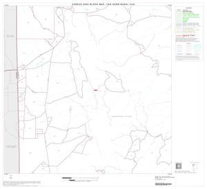 Primary view of object titled '2000 Census County Subdivison Block Map: Van Horn Rural CCD, Texas, Block 4'.