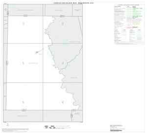 Primary view of object titled '2000 Census County Subdivison Block Map: Westbrook CCD, Texas, Index'.