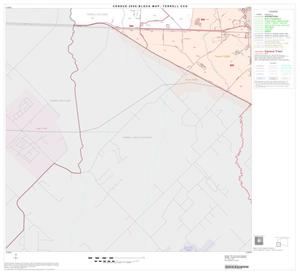 Primary view of object titled '2000 Census County Subdivison Block Map: Terrell CCD, Texas, Block 4'.