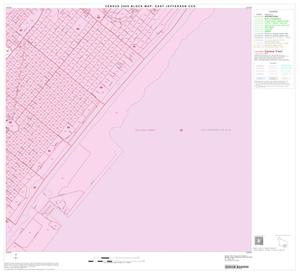 Primary view of object titled '2000 Census County Subdivison Block Map: East Jefferson CCD, Texas, Block 19'.