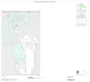 Primary view of object titled '2000 Census County Subdivison Block Map: Dumas CCD, Texas, Inset A01'.