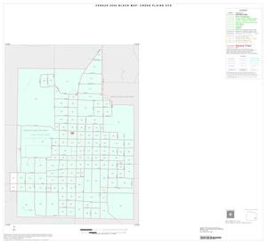 Primary view of object titled '2000 Census County Subdivison Block Map: Cross Plains CCD, Texas, Inset A01'.