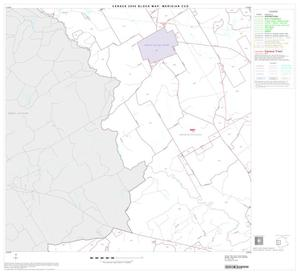 Primary view of object titled '2000 Census County Subdivison Block Map: Meridian CCD, Texas, Block 4'.