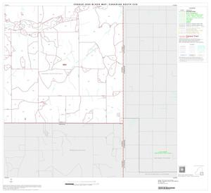 Primary view of object titled '2000 Census County Subdivison Block Map: Canadian South CCD, Texas, Block 8'.