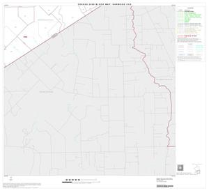 Primary view of object titled '2000 Census County Subdivison Block Map: Garwood CCD, Texas, Block 6'.
