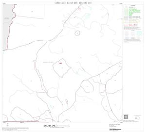 Primary view of object titled '2000 Census County Subdivison Block Map: Bandera CCD, Texas, Block 10'.