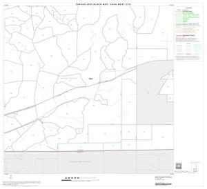 Primary view of object titled '2000 Census County Subdivison Block Map: Vega West CCD, Texas, Block 8'.