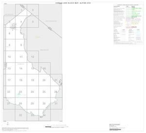Primary view of object titled '2000 Census County Subdivison Block Map: Alpine CCD, Texas, Index'.