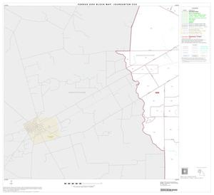 Primary view of object titled '2000 Census County Subdivison Block Map: Jourdanton CCD, Texas, Block 3'.