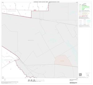 Primary view of object titled '2000 Census County Subdivison Block Map: Waxahachie CCD, Texas, Block 9'.