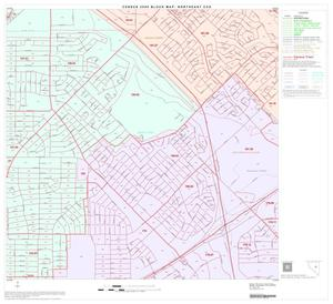Primary view of object titled '2000 Census County Subdivison Block Map: Northeast CCD, Texas, Block 30'.