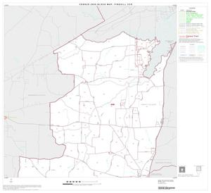 Primary view of object titled '2000 Census County Subdivison Block Map: Pinehill CCD, Texas, Block 1'.