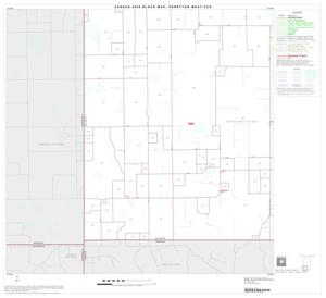 Primary view of object titled '2000 Census County Subdivison Block Map: Perryton West CCD, Texas, Block 5'.