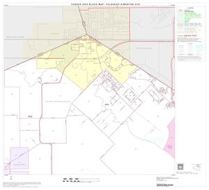 Primary view of object titled '2000 Census County Subdivison Block Map: Fulshear-Simonton CCD, Texas, Block 3'.