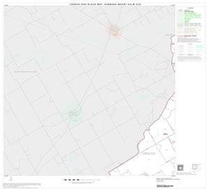Primary view of object titled '2000 Census County Subdivison Block Map: Hubbard-Mount Calm CCD, Texas, Block 1'.