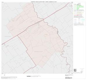 Primary view of object titled '2000 Census County Subdivison Block Map: Edna-Cordele CCD, Texas, Block 5'.