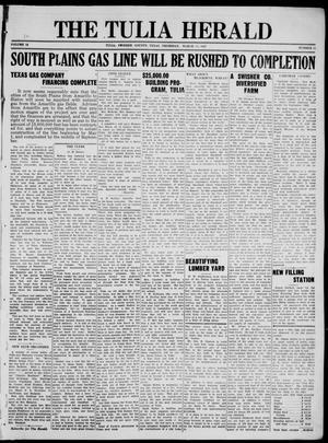 Primary view of The Tulia Herald (Tulia, Tex), Vol. 18, No. 11, Ed. 1, Thursday, March 17, 1927
