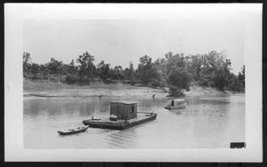 Primary view of object titled '[Boats on a River]'.