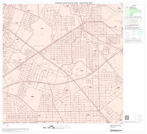 Primary view of object titled '2000 Census County Subdivison Block Map: Houston CCD, Texas, Block 95'.