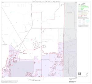 Primary view of object titled '2000 Census County Subdivison Block Map: Mineral Wells CCD, Texas, Block 5'.
