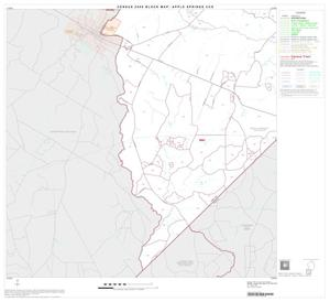Primary view of object titled '2000 Census County Subdivison Block Map: Apple Springs CCD, Texas, Block 5'.