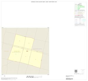 Primary view of object titled '2000 Census County Subdivison Block Map: East Grayson CCD, Texas, Inset D01'.