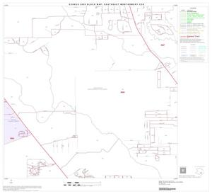 Primary view of object titled '2000 Census County Subdivison Block Map: Southeast Montgomery CCD, Texas, Block 28'.