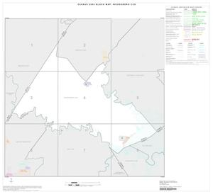 Primary view of object titled '2000 Census County Subdivison Block Map: Woodsboro CCD, Texas, Index'.