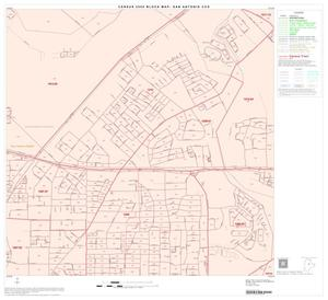 Primary view of object titled '2000 Census County Subdivison Block Map: San Antonio CCD, Texas, Block 43'.