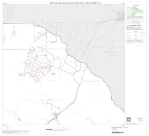 Primary view of object titled '2000 Census County Subdivison Block Map: Realitos-Concepcion CCD, Texas, Block 2'.