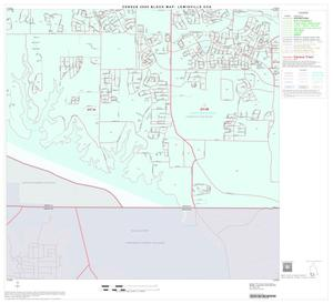 Primary view of object titled '2000 Census County Subdivison Block Map: Lewisville CCD, Texas, Block 14'.