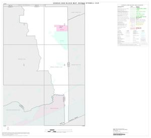 Primary view of object titled '2000 Census County Subdivison Block Map: Winnie-Stowell CCD, Texas, Index'.