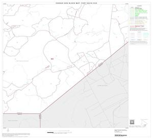 Primary view of object titled '2000 Census County Subdivison Block Map: Fort Davis CCD, Texas, Block 14'.