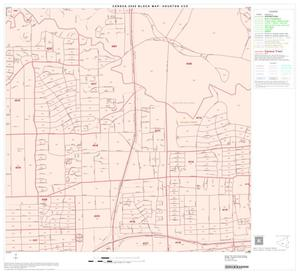 Primary view of object titled '2000 Census County Subdivison Block Map: Houston CCD, Texas, Block 79'.