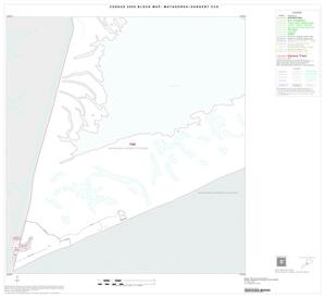 Primary view of object titled '2000 Census County Subdivison Block Map: Matagorda-Sargent CCD, Texas, Inset B03'.