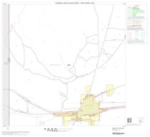 Primary view of object titled '2000 Census County Subdivison Block Map: Van Horn CCD, Texas, Block 3'.