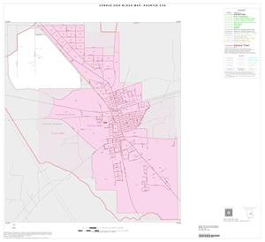 Primary view of object titled '2000 Census County Subdivison Block Map: Kountze CCD, Texas, Inset B01'.