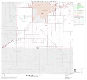 Primary view of object titled '2000 Census County Subdivison Block Map: Hereford East CCD, Texas, Block 7'.