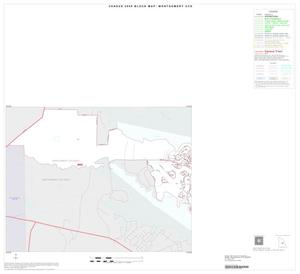 Primary view of object titled '2000 Census County Subdivison Block Map: Montgomery CCD, Texas, Inset A01'.