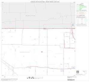 Primary view of object titled '2000 Census County Subdivison Block Map: Cedar Creek Lake CCD, Texas, Block 3'.