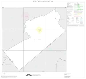 Primary view of object titled '2000 Census County Subdivison Block Map: Poth CCD, Texas, Index'.