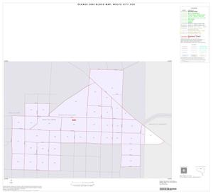 Primary view of object titled '2000 Census County Subdivison Block Map: Wolfe City CCD, Texas, Inset A01'.