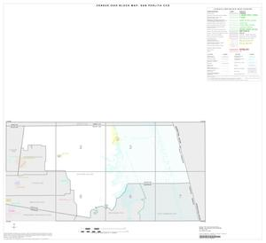 Primary view of object titled '2000 Census County Subdivison Block Map: San Perlita CCD, Texas, Index'.