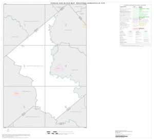 Primary view of object titled '2000 Census County Subdivison Block Map: Westhoff-Arneckville CCD, Texas, Index'.