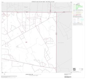 Primary view of object titled '2000 Census County Subdivison Block Map: Big Wells CCD, Texas, Block 3'.