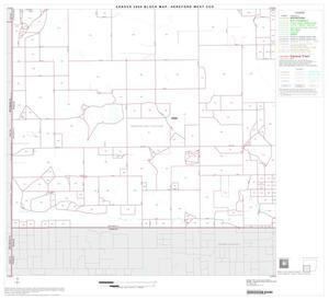 Primary view of object titled '2000 Census County Subdivison Block Map: Hereford West CCD, Texas, Block 3'.