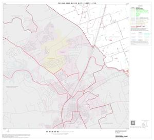 Primary view of object titled '2000 Census County Subdivison Block Map: Jarrell CCD, Texas, Block 3'.