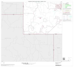 Primary view of object titled '2000 Census County Subdivison Block Map: Bowie CCD, Texas, Block 9'.