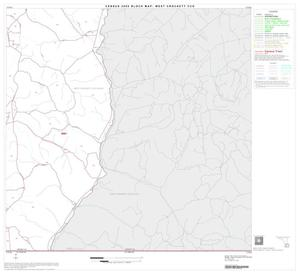 Primary view of object titled '2000 Census County Subdivison Block Map: West Crockett CCD, Texas, Block 8'.